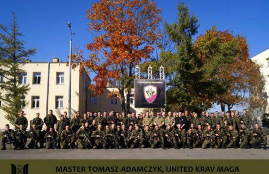 Szkolenie dla 18. Białostockiego Pułku Rozpoznawczego