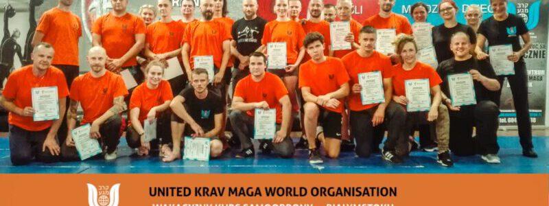 Zakończenie wakacyjnego kursu samoobrony United Krav Maga w Białymstoku